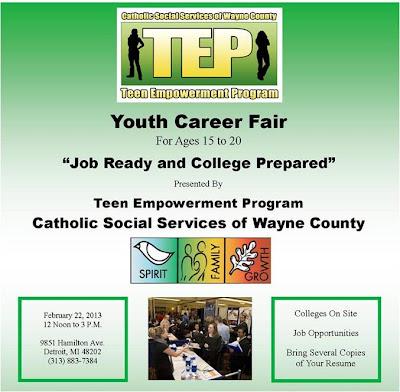 Teen Job Fair For Ages 98