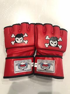 Women Martial art glove Red