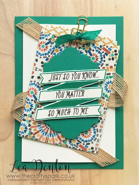 stampin-up-emerald-envy-moroccan-dsp-lea-denton-gift-card