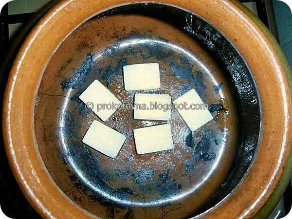 The crack in clay pot sugar