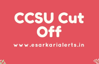 CCSU Cut Off 2017