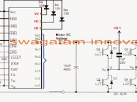 3 phase Solar Submersible Pump Inverter Circuit