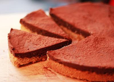 Gluten-free, dairy free chocolate torte