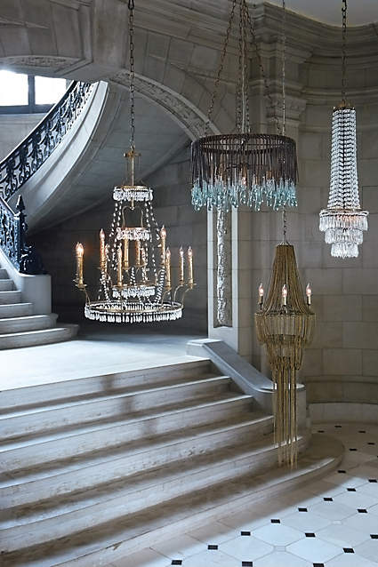 unique home decor lighting: chandeliers, lamps, and pendant lights