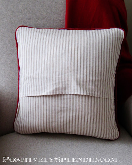how to sew an envelope back pillow cover 87198