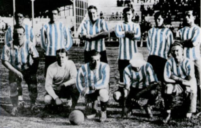 Formación de Argentina ante Chile, Campeonato Sudamericano 1916, 6 de julio