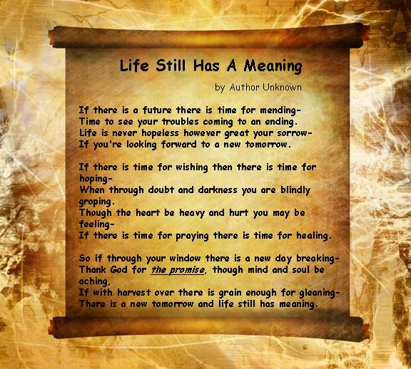 Inspirational Life Quotes And Poems. QuotesGram
