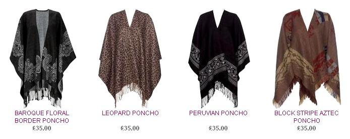 FROCKTASIA: Buy or DIY - Poncho cape wrap