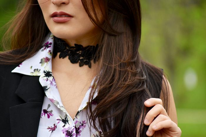 lace choker necklaces