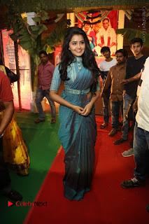 Actress Anupama Parameswaran Stills in Stylish Saree at Shatamanam Bhavathi Audio Launch  0079.JPG