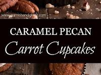 Caramel Pecan Carrot Cupcakes Recipe