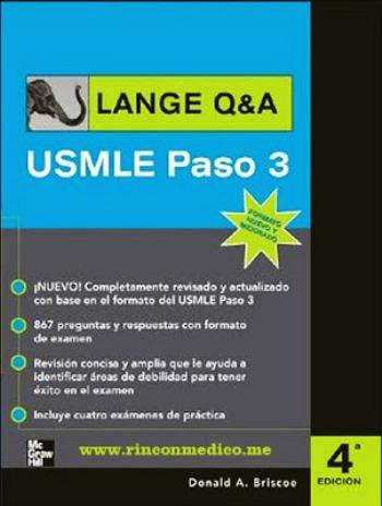 USMLE Paso 3, 4ta Edición – Donald A. Briscoe