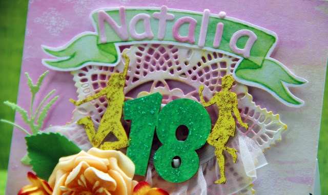 karka na 18ste urodziny, kartka urodzinowa, prezent na 18stkę, Magiczna Kartka Rajskie Sonety, tekturka 18stka