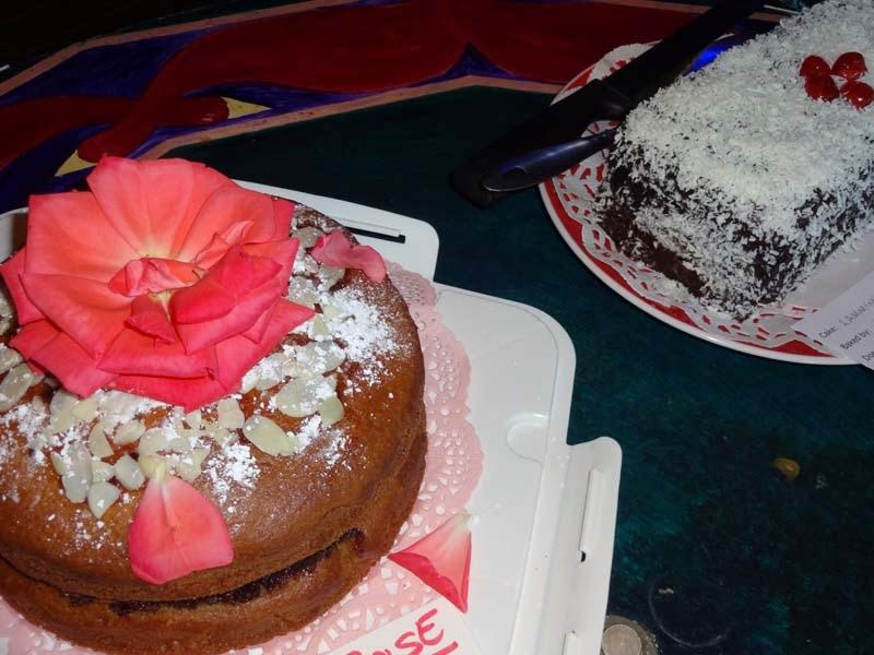 Rose Jelly Cake Recipe: A Seasonal Veg Table: Vegan Rose Syrup And Rose