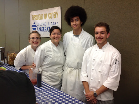 Career Center students participate in Bradford Farm Tomato Festival