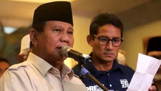 Prabowo-Sandiaga akan Ajukan Gugatan Pilpres 2019 ke MK