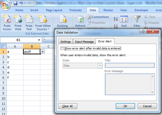 MICROCOMPUTER APPLICATION NOTES: MICROSOFT EXCEL 2007