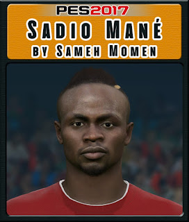 PES 2017 Faces Sadio Mané by Sameh Momen