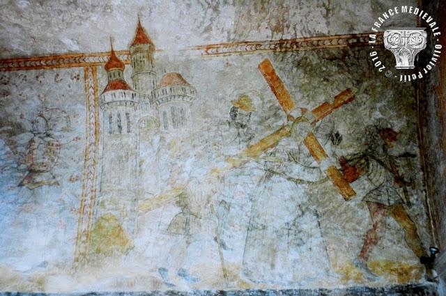 SAINT-MAURICE-DE-GOURDANS (01) - Eglise Saint-Maurice (XIIe-XVIe siècles)