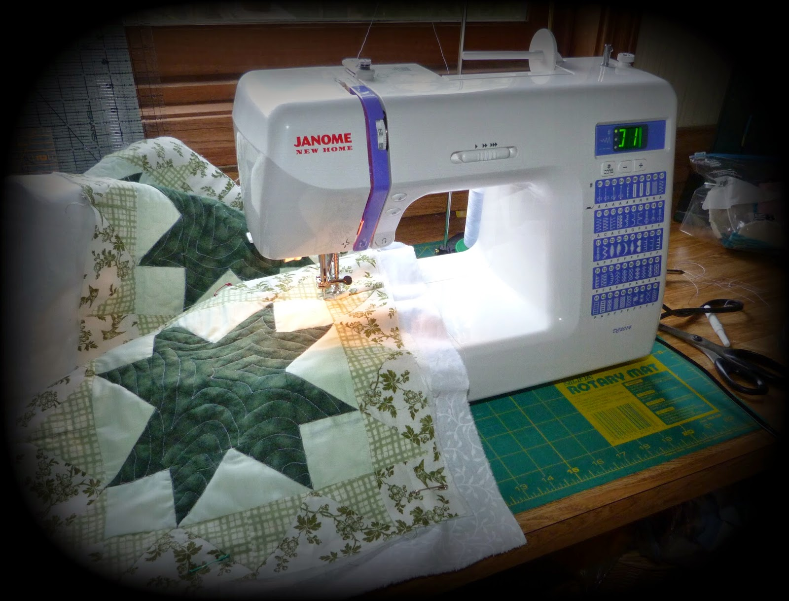 CHQuilts: New Janome DC2014