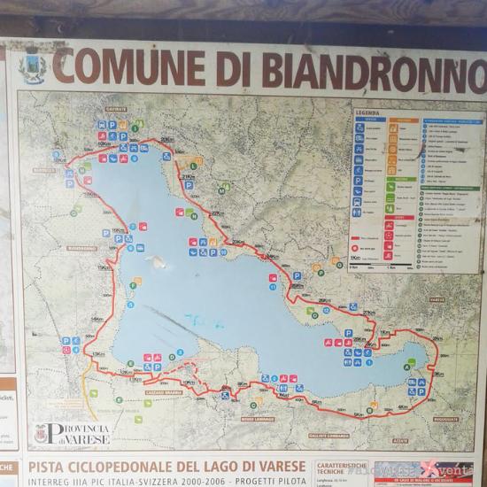 Ai Quattro Venti pista ciclopedonale del lago di Varese