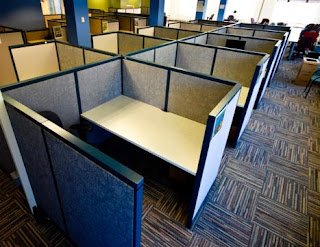 Partisi Workstation Di Ruangan Kantor