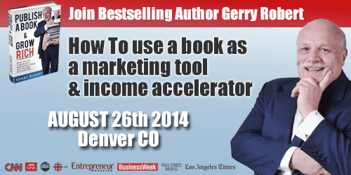 Book Publishing and Networking Seminar - August 26, Denver, CO
