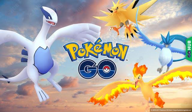 Niantic confirma que Moltres llegará el 31 de julio y Zapdos el 7 de agosto a Pokémon GO
