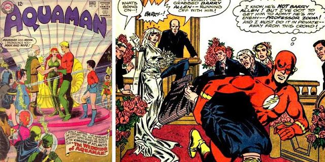 Superhero Marvel dan DC yang Menikah
