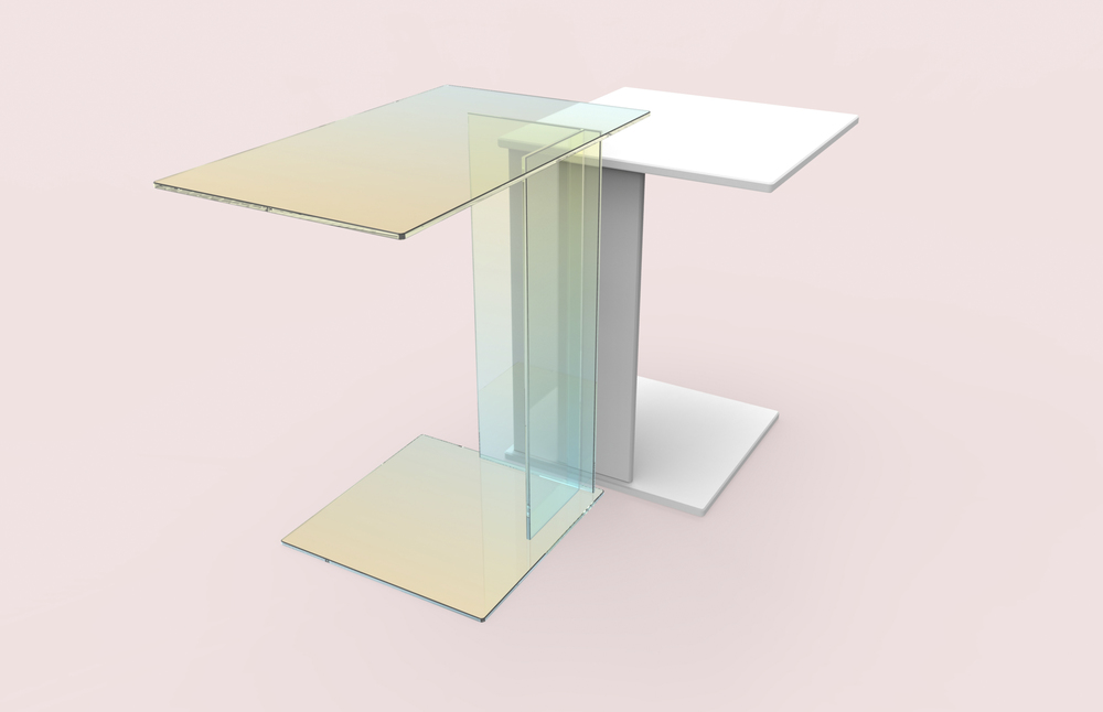 iridescent tables kukka