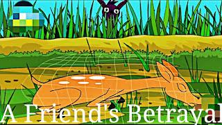 The jackal betrayed his friend deer