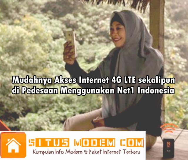 "Inilah Daftar Harga Paket Internet 4G Net1 Indonesia ""Paket Personal"""