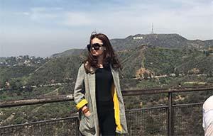 Raisya Bawazier Di Pegunungan