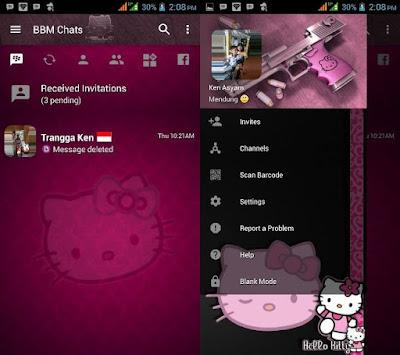 BBM Mod Hello Kitty v3.2.5.12 Clone 2017