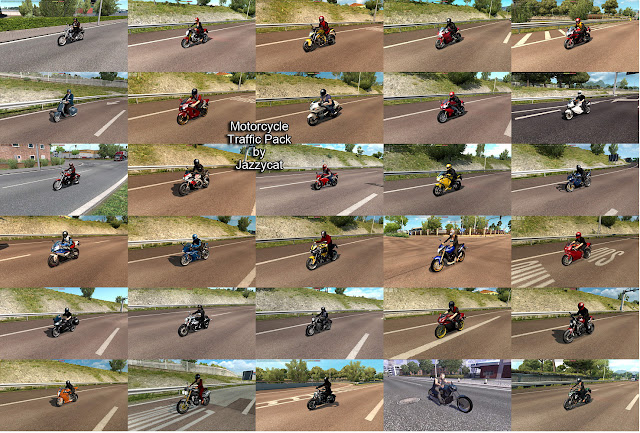 ets 2 motorcycle traffic pack v2.8 screenshots 2