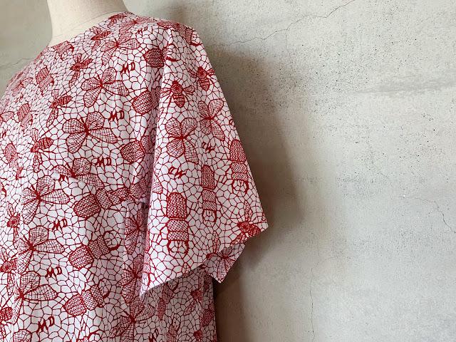 mintdesigns【ミントデザインズ】LACE PRINT DRESS◆八十八/丸亀香川県・eighty88eight/新居浜愛媛県エイティエイト