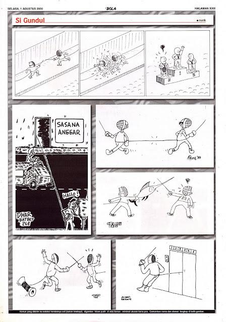 Si Gundul EDISI SELASA, 1 AGUSTUS 2000