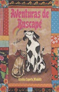 Aventuras de Buscapé. Giselda Laporta Nicolelis. Editora Moderna. Edu (Carlos Eduardo Salgueirosa de Andrade. Capa de Livro. Book cover. 1983.