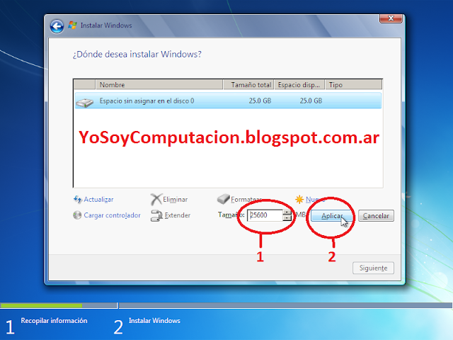 Instalar Windows 7 paso a paso tutorial