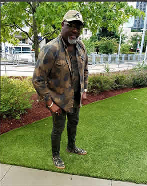 """I ready for all dem bad people"", Dino Melaye vows, dons combat camouflage (PHOTOS)"