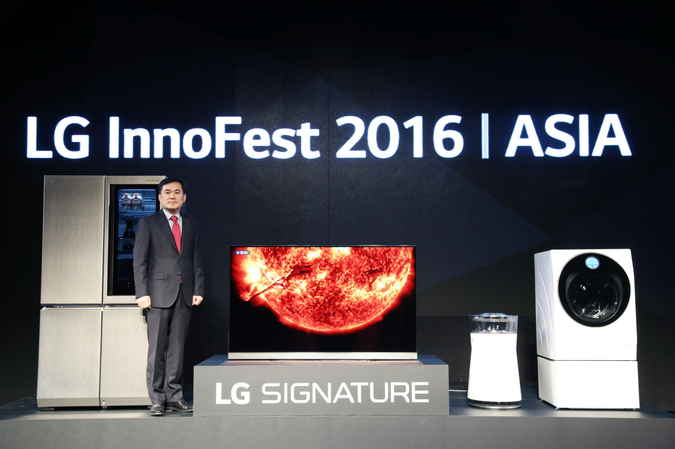 LG Positioned as Asia's Innovation Leader with new Signature lineup