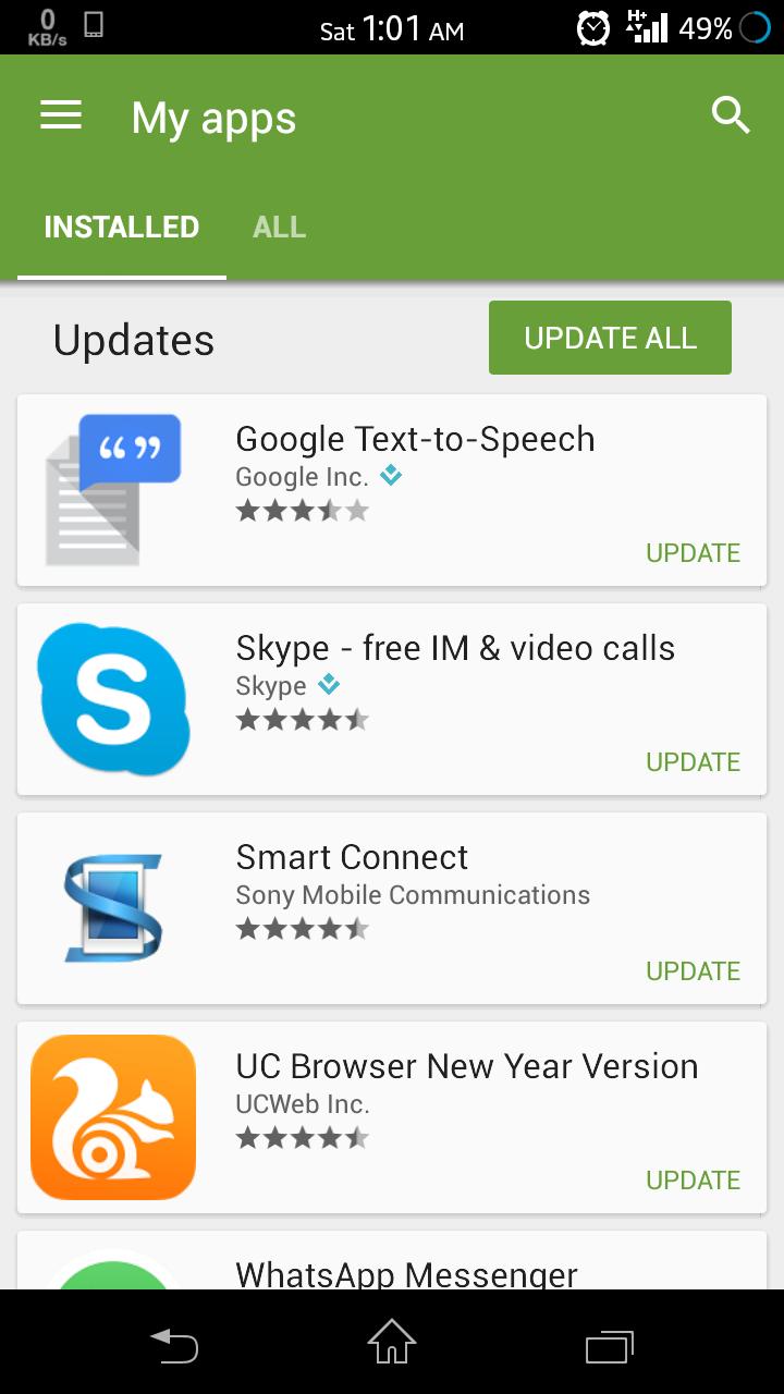 app auto update