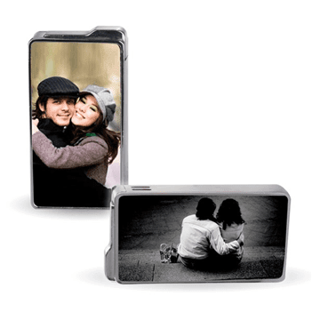 Kişiye Özel İki Fotoğraflı Çakmak