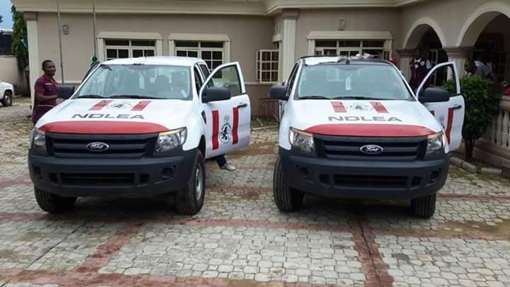Governor Yahaya Bello donates patrol vans to NDLEA