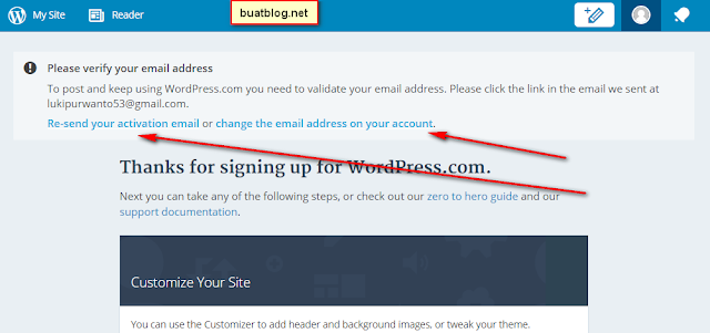 Cara Membuat Blog Gratis di WordPress Lengkap Dengan Gambar