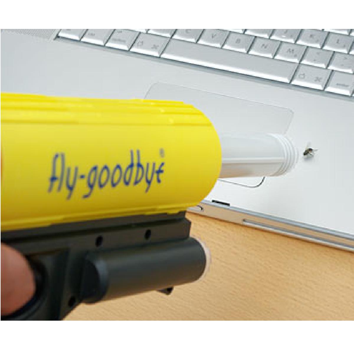Un pistolet qui aspire les mouches.