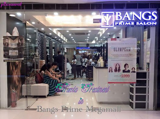 pisceanrat salon review mucota treatment in bangs prime sm megamall branch. Black Bedroom Furniture Sets. Home Design Ideas