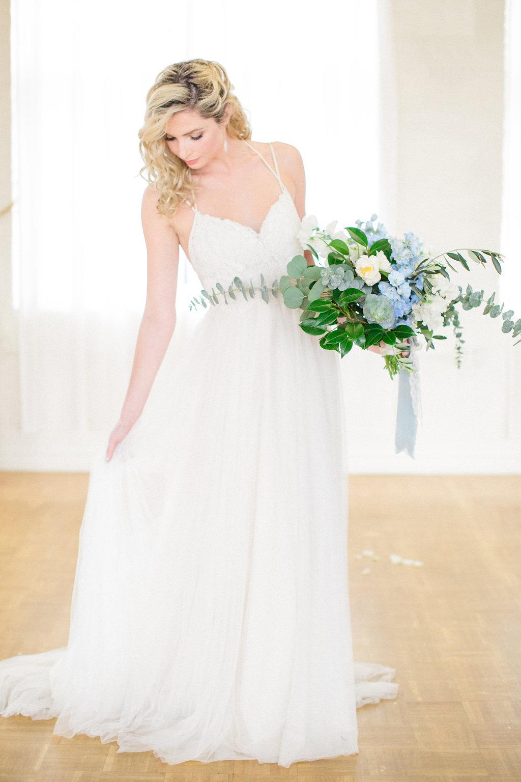 Styled photoshoot something gold something blue les for Shannon farren wedding