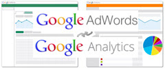 Google Adwords Analytics Connecting