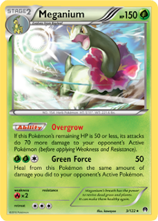 Meganium BREAKpoint Pokemon Card